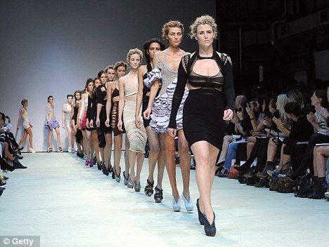 In 2009 Size 14 model Hayley Morley caused shock waves when she walked for Mark Fast at London Fashion Week.