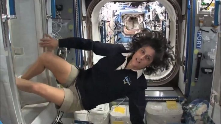 Sunita williams in International SPACE Station Live Mindblowing Footage