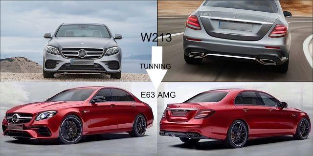 E63 Amg Body Kit For Mercedes Benz E Class W213 200l 300l Body
