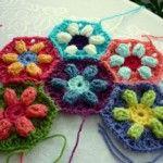 mattonelle Granny-esagonale-con-fiore