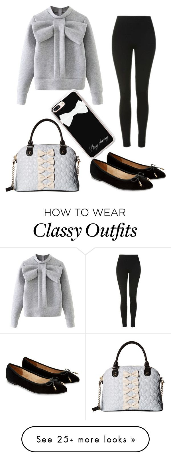 """""""Untitled #281"""" by shl-cook on Polyvore featuring WithChic, Topshop, Accessorize, Betsey Johnson and Casetify"""