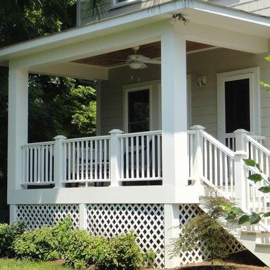 10 Best Craftsman Bungalow Porch Railings Images On