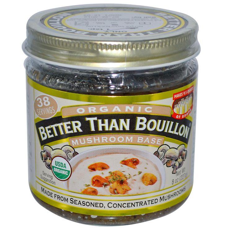 Better Than Bouillon, Organic, Mushroom Base, 8 oz (227 g)