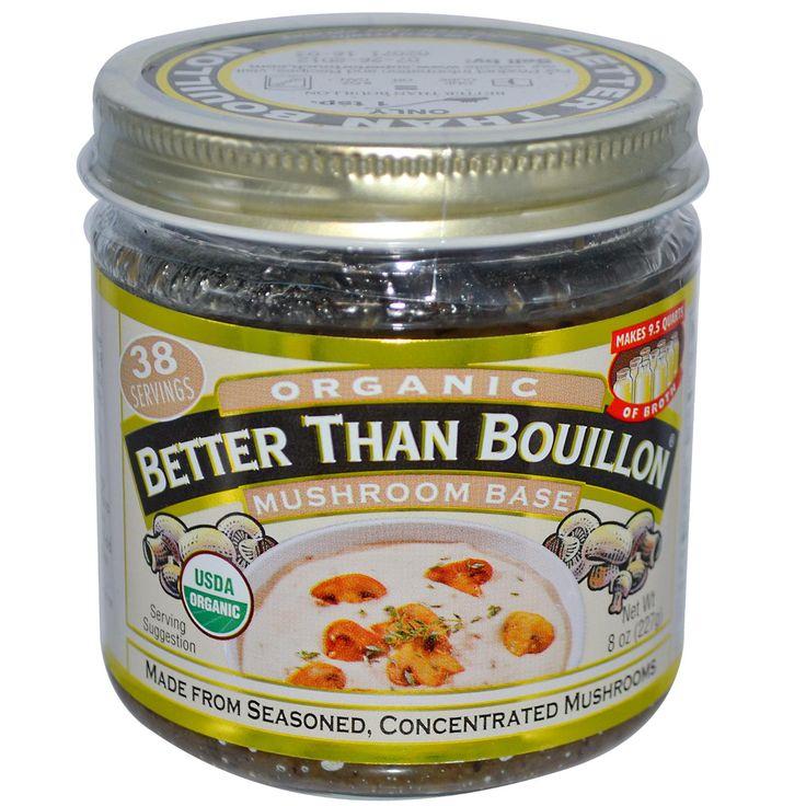Better Than Bouillon, Organic, Mushroom Base, 8 oz (227 g)