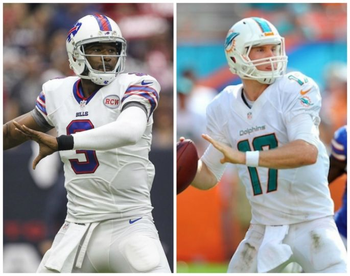NFL 2015 Season: Buffalo Bills vs Miami Dolphins, Preview, Prediction & Predicted Lineup Raymund Tamayo | Sep 22, 2015 12:48 AM EDT -     Quarterback Battle: Bills' Tyrod Taylor vs Dolphins' Ryan Tannehill