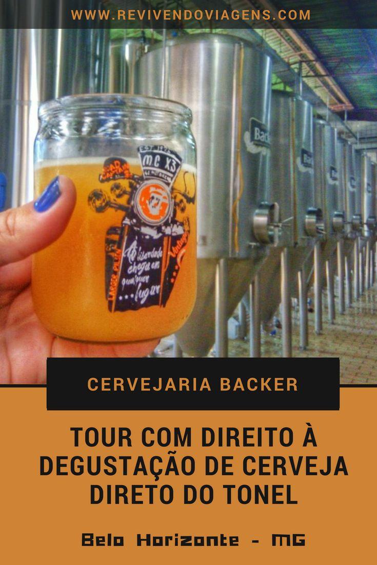 Saiba como é o tour com degustação de cervejas artesanais na fábrica da Cervejaria Backer, em Belo Horizonte. Minas Gerais. Brasil. Beer.