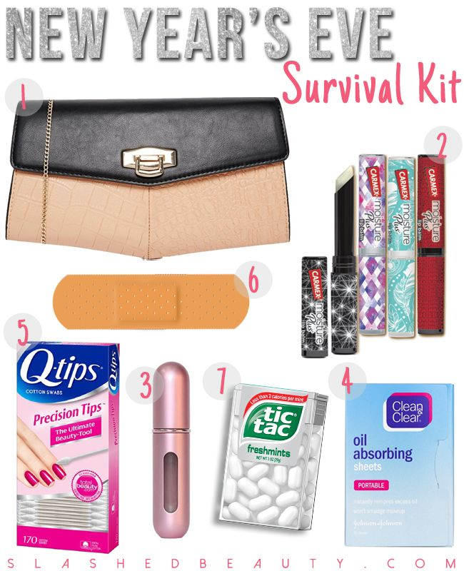 Pack Your New Year Eve Survival Kit