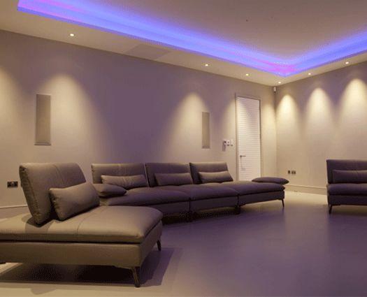 the lighting design studio basement lighting
