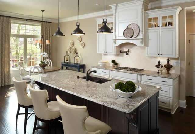 pergaminho granite kitchen granite kitchen countertops rh pinterest com
