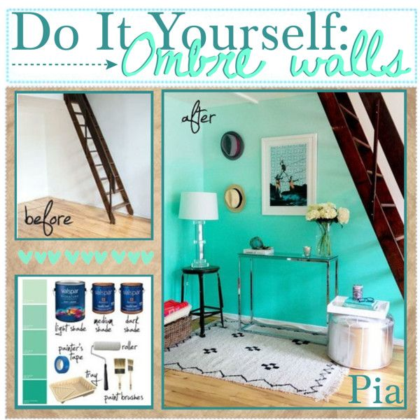 56 best tie dye and ombre walls images on pinterest for How to paint a wall yourself