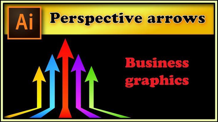 Perspective arrows - Adobe Illustrator tutorial