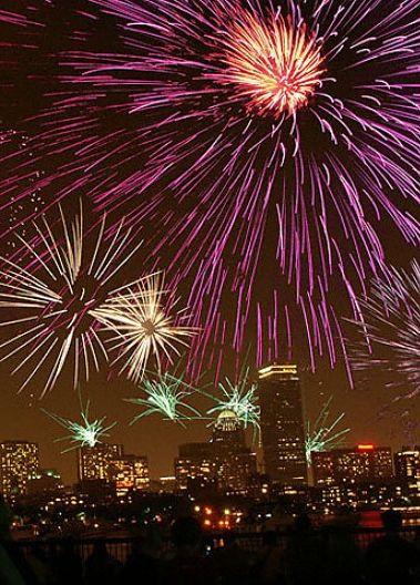 14 Best Fireworks Displays around the world : Boston Pops Fireworks Spectacular