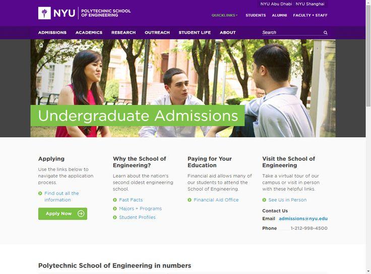 nyu poly admissions essay