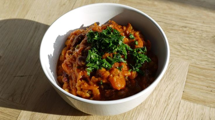 Polskie South Beach: Wegańskie chili (chili sin carne)