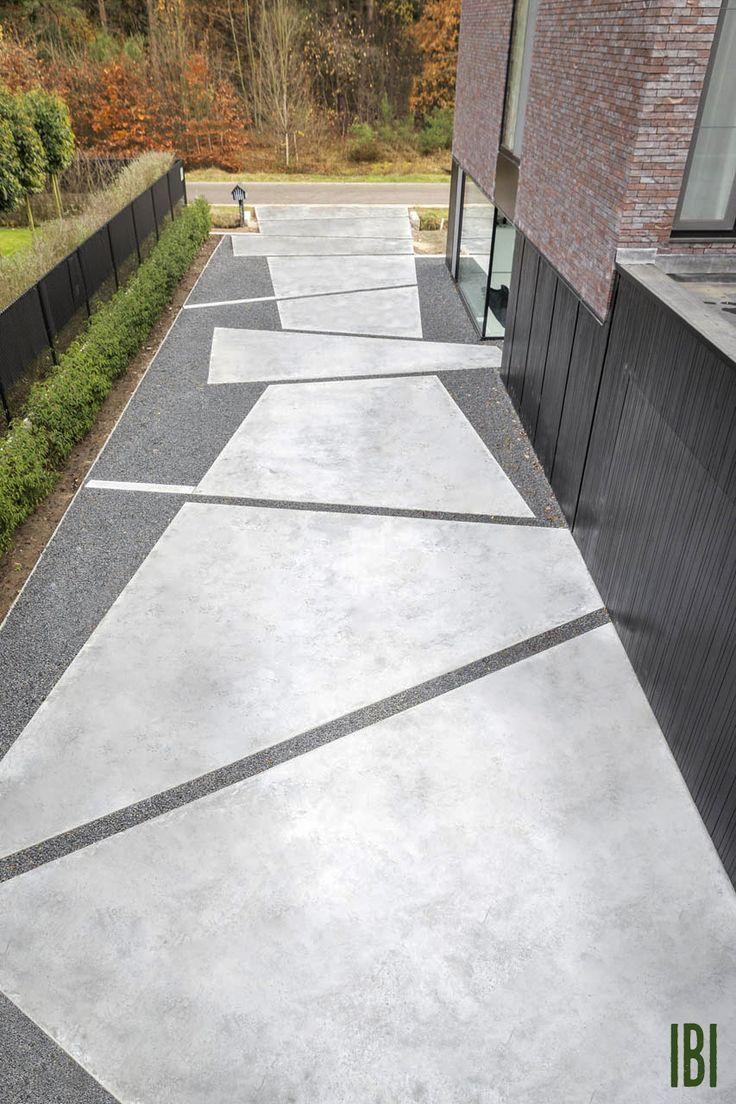 Driveway Paving Ideas Paving Cheap Paving Ideas Tags Paving Ideas Garden Pa Moderne Landschaftsgestaltung Moderne Auffahrt Auffahrt Pflasterung