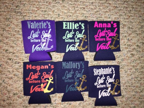 Last Sail before the Veil koozies by Craftylilthang on Etsy