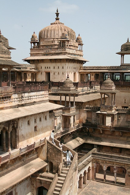 Orchha Fort, India
