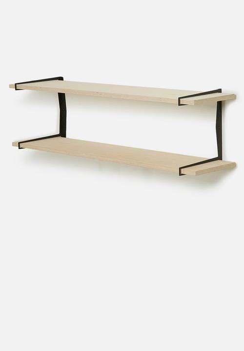 Double dash shelf - black Smart Shelf Shelves | Superbalist.com