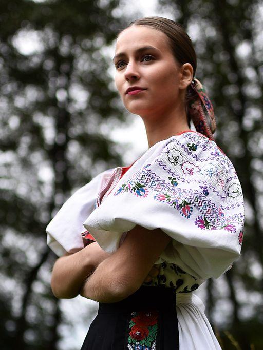 SK, slovensky kroj