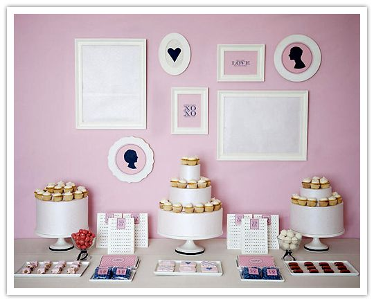 Sweet Inspiration: Love Dessert Table by Shauna Younge. * Includes link for chocolate bar wrapper printable: All you need is Love and fine chocolate.