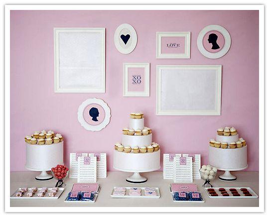 Beautiful #Dessert Tables