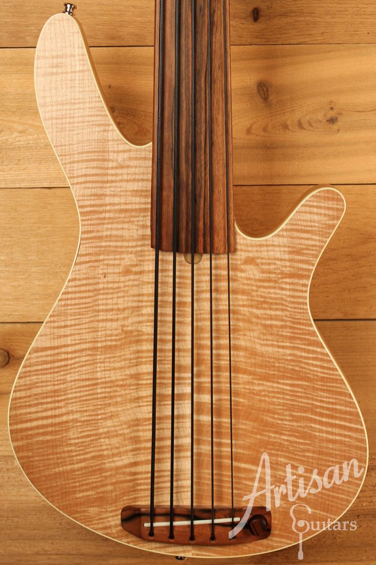 Rob Allen MB2 Fretless Bass Guitar w/ Natural Finish Pre