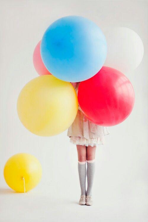 <3 Birthday balloons