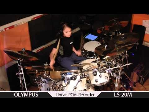 Tommy Igoe Endure - drum cover by Igor Falecki (11 y old), you tube