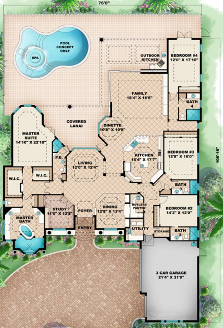 38 best house floor plans images on pinterest architecture
