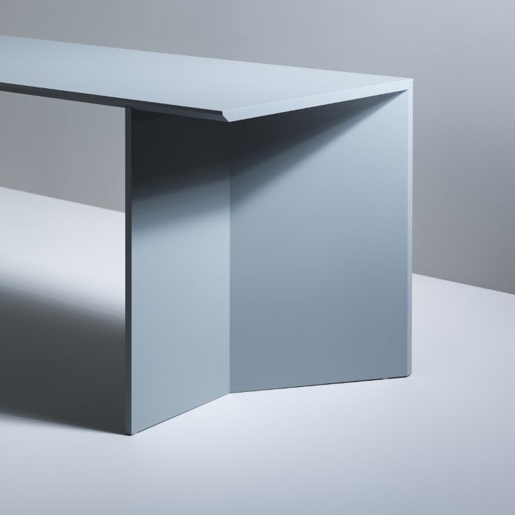 The rigid side of this table.