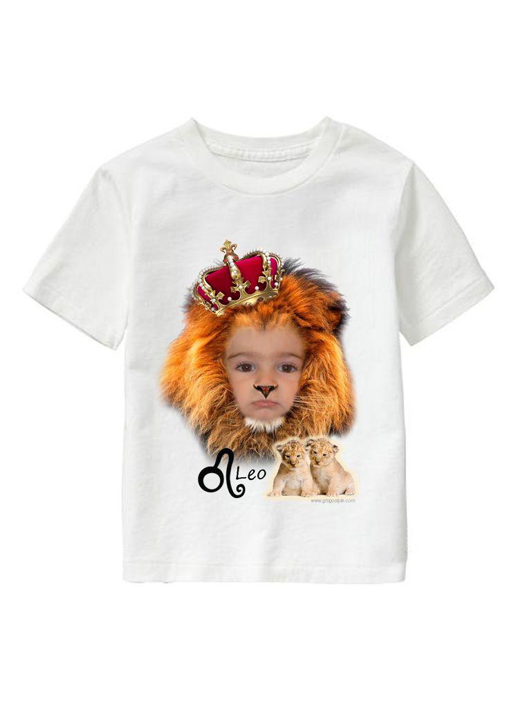 Leo Boy personalized T-shirt www.ghigostyle.com