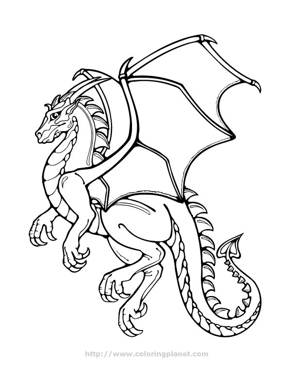 dragon pictures to print click here to print this image for coloring - Free Coloring Pages Of Dragons To Print
