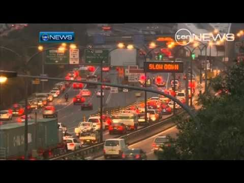 #4 of 5 A tight fit - YouTube. Uploaded on May 26, 2011 Sydney traffic has ground to a halt after a truck driver ignored warning signs and almost wedged his vehicle in the Harbour Tunnel. http://www.youtube.com/watch?feature=player_embedded=NoTMC-uxJoo