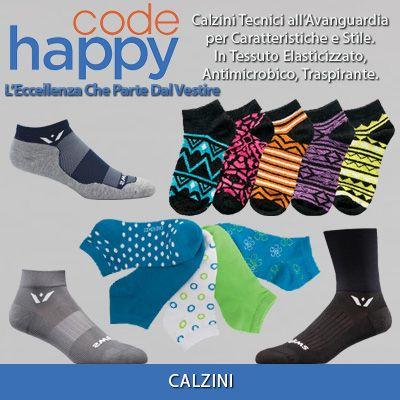 Calzini Code diversi modelli e colori