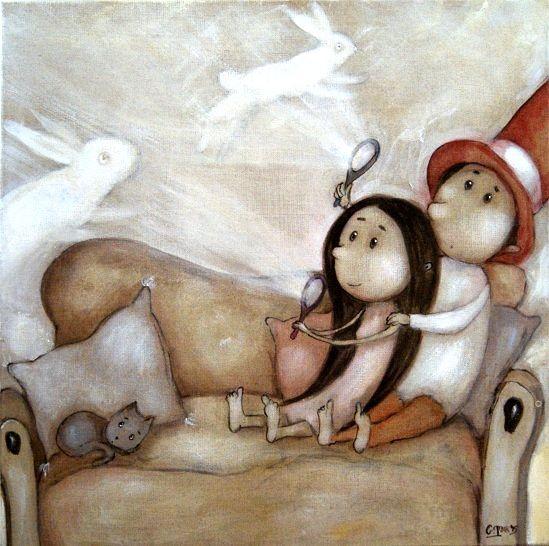 Grzegorz Ptak, obrazy, ,malarstwo, sztuka, wnętrza, baśnie, bajki, tajemnice