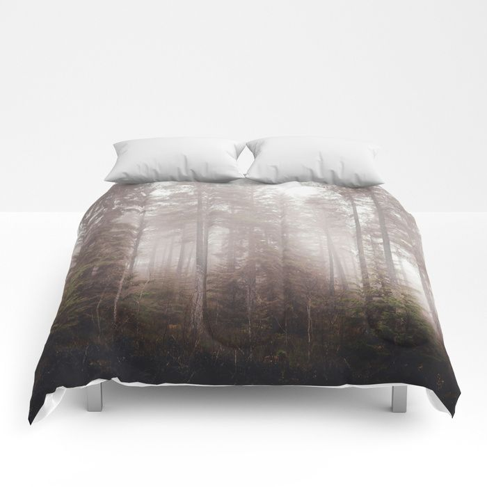 A fogilicious morning Comforters by HappyMelvin | Society6