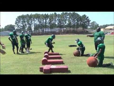 Coaching Youth Football: Linebacker Basics - YouTube