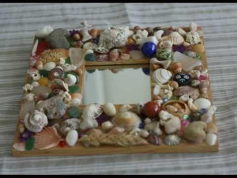 Best 14 adornos de conchas del mar images on pinterest - Manualidades con conchas ...