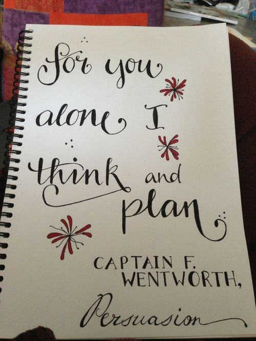 I'd marry a Captain Wentworth in a heartbeat! :) (from Jane Austen's Persuasion...my fav story, after pride and prejudice of course)