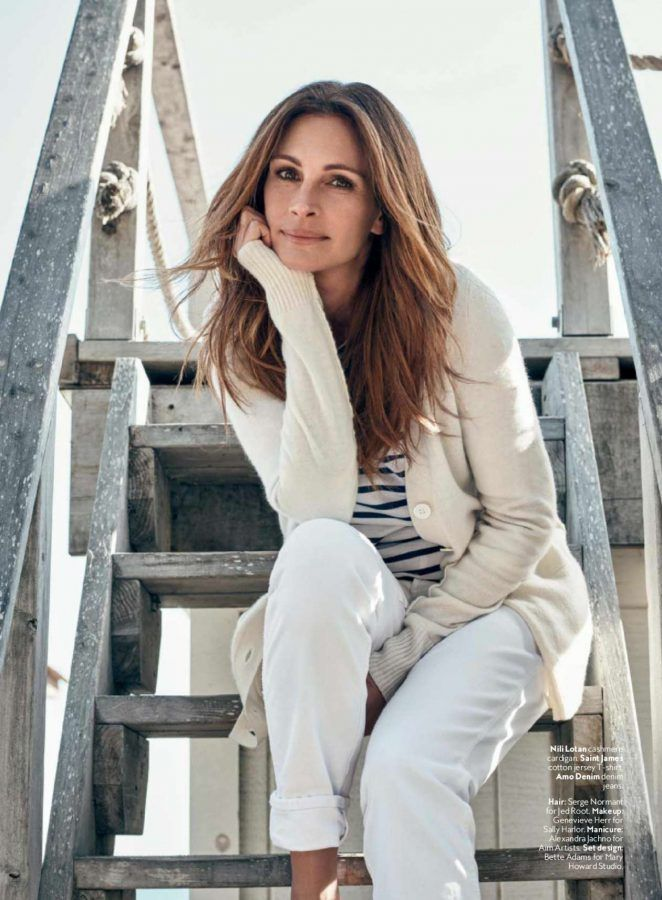 Beauty Mags: Julia Roberts | InStyle US June 2016