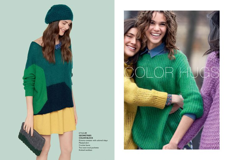 Benetton autumn15 woman collection fashion trend for Benetton usa online shop