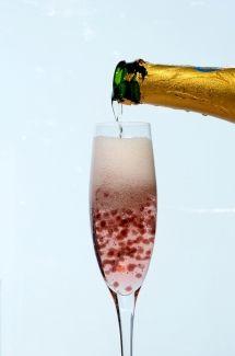 Billes parfumées pour le champagne | Cuisine Moléculaire