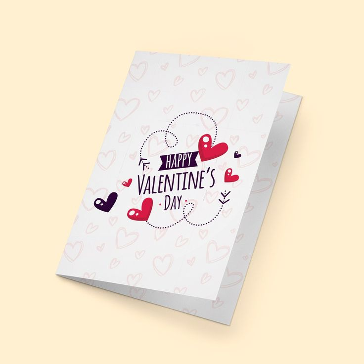 valentines card for her print ready valentines card for