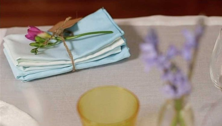 Create beautiful ombre dip dyed napkins #WhanauLiving #AdrenalinGroup