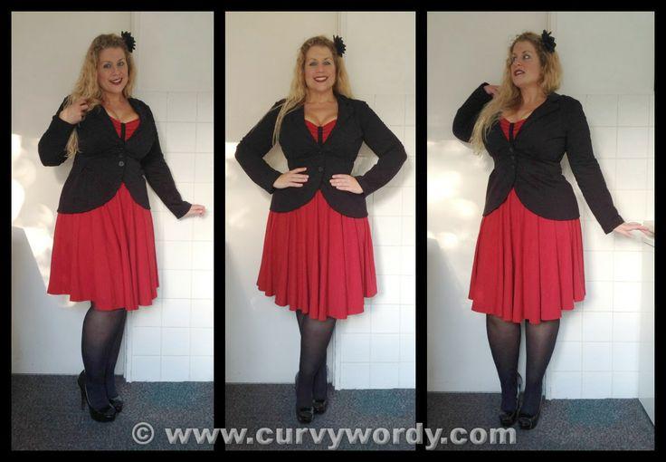 Curvy Wordy: Urkye Black Blazer Kameleon W Czerni 40 oo/ooo