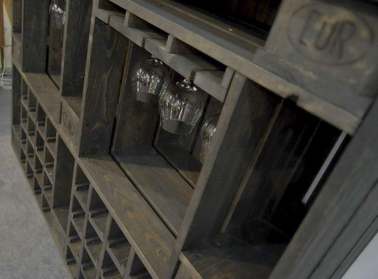 Камин-бар серии Loft коллекции Pallet Line