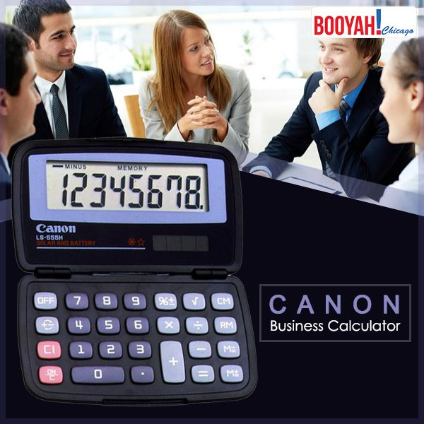 #GenuineImportedProductsDirectFromUSA Only at http://Booyahchicago.com  Canon Office Products LS-555H Business Calculator. Buy Now : https://tinyurl.com/y7lsapft #OfficeSupplies #SchoolSupplies