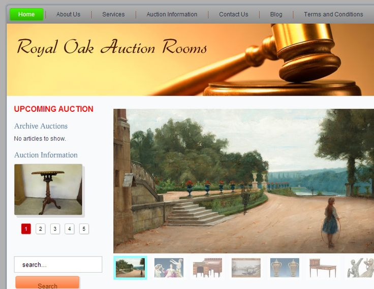 Royal Oak Auction rooms - Increase your sales - Brand You