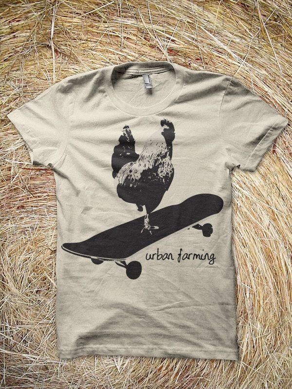 URBAN FARMING t'shirt by parmob on Etsy