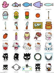 Free Machine Embroidery Designs Download: Hello Kitty embroidery designs